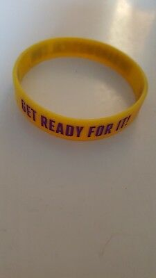 The Band Take That Musical wristband