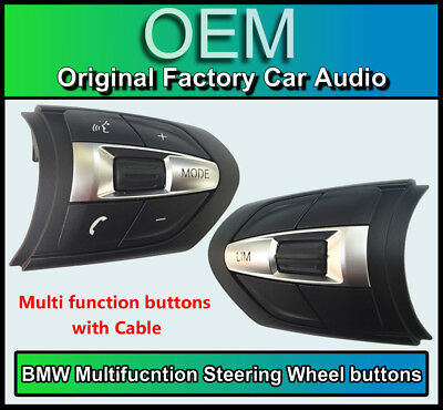 BMW 3 Series M Sport Steering Wheel control buttons Multi function, F30 F31