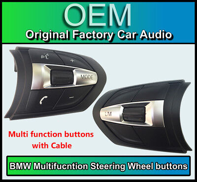 BMW Steering Wheel Buttons, 3 Series M Sport Multi Function Controls, F30 F31