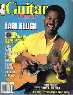 Guitar Player: August, 1985, Earl Klugh, Roy Buchanan, John Taylor, Steve Lynch