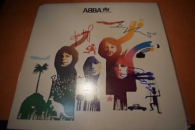 ABBA - The Album signed + certificate of authenticity