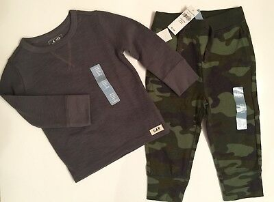 Baby Gap 18-24 months Boy Shirt and Sweatpants NWT
