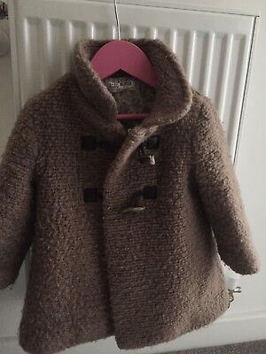 Girls Zara Coat 18-24months