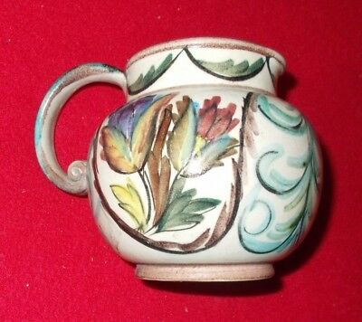 Denby Glyn Colledge Signed Jug Approx 4 3/4 Inches Tall