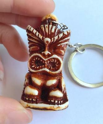 cool tibet  jewelry fashion tiki head design key-chains ma2