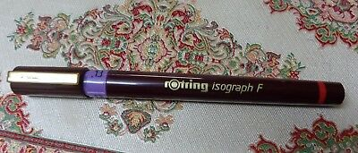 rOtring  Isograph F  Tuschefüller 0,13 mm