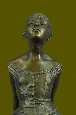 The Ballerina Bronze Sculpture Edgar Degas Collector Edition Heavy 13 Pounds