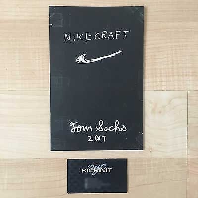 Tom Sachs X Nikecraft Nike Mars Yard 2.0 Booklet - In Hand - Space Camp