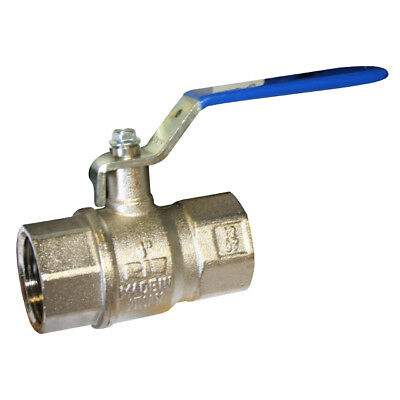 Brass Ball Valve  - Standard Pattern -  Lever Handle - Wras Approved