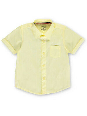 French Toast Little Boys' Toddler S/S Button-Down Shirt (Sizes 2T - 4T)