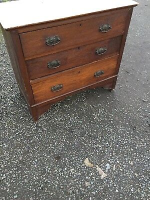 Vintage Edwardian Chest of Drawers Decorative handles 6/2/C