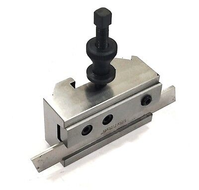 NEW T2 S2 Quick Change Tool Post PARTING CUT OFF Tool Holder WITH HSS BLADE