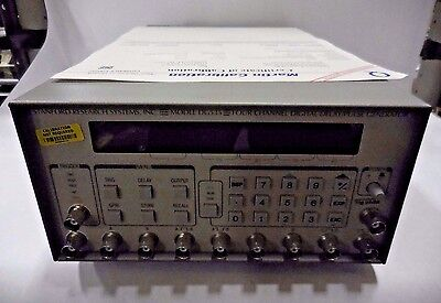 Stanford Research Systems DG535 4-Channel Digital Delay/Pulse Generator OPT 1,2