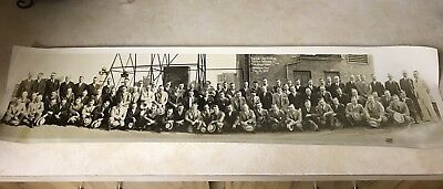 Sinclair Oil Company Memorabilia Rare Photo From 1929