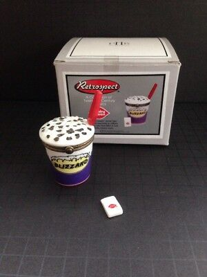 Dairy Queen Blizzars Midwest of Canon Falls Porcelain Hinged Box