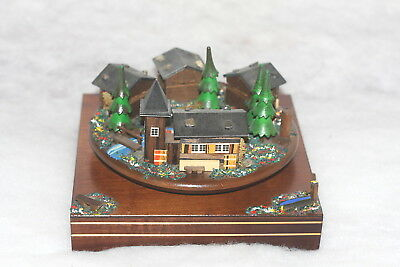 Vintage REUGE MUSIC BOX ITS A SMALL WORLD Music Box RARE