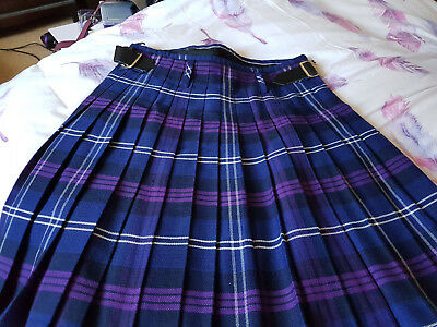Men's Great Scott Tartan Kilt Size 34 Waist wedding excellent condition