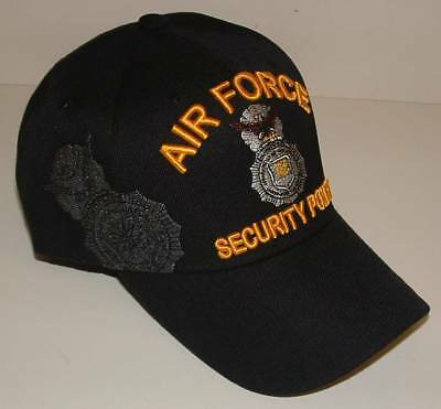 United States Air Force Security Police Embroidered Ball Cap 3D Quality. 2967a299f2b