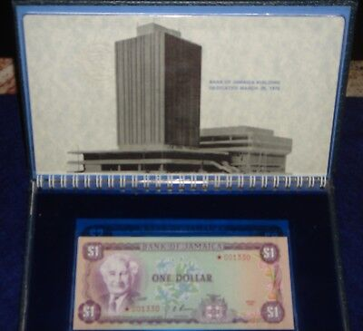 Bank Of Jamaica Series 1976 Special Edition Set Of Four Banknotes -Serial #01330