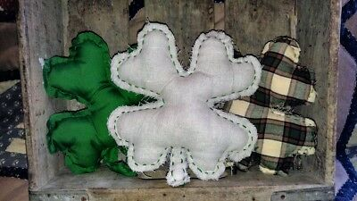 New handmade ornies-bowl fillers primitive St Patrick's Day