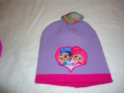 Nwt Shimmer And Shine Girls Beanie Hat