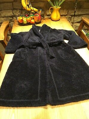 The Little White Company Boys Dressing Gown Age 5/6 Years
