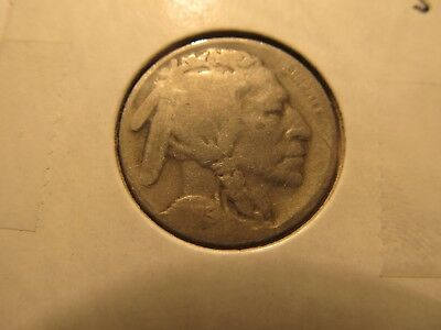 1925-S 5C Buffalo Nickel--Two Feathers