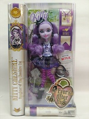 Ever After High Kitty Cheshire First Chapter- Original package with minor damage