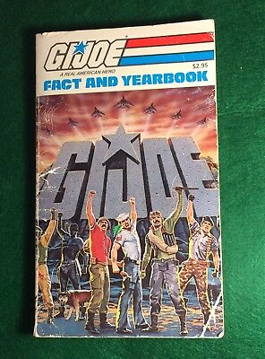 Rare Vintage Gi Joe Fact And Yearbook
