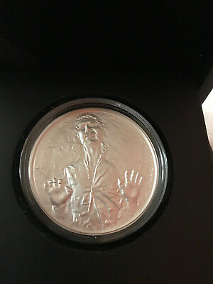 2016 Han Solo Star Wars $2 Proof Disney Niue W/Box & COA