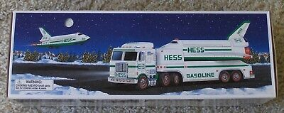 1999 Hess Toy Truck And Space Shuttle With Satelite Nib/mint/unused Well Packed!