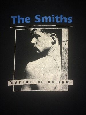 Vintage The Smiths Hatful Of Hollow T Shirt Adult Large 90's Rare HTF