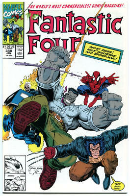 FANTASTIC FOUR #347 348 349, NM, Hulk , Wolverine, Spider-man, more FF in store
