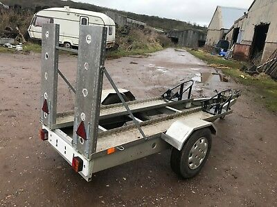 Alluminium Bike Trailer,carries 2 C/w Lights And Brakes
