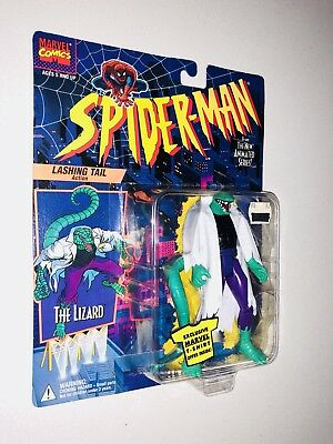Brand New Vintage The Lizard Figure Rare Spider-man Animated Series Collectable