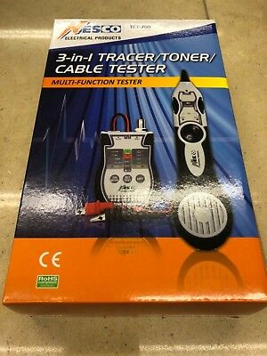 Nesco 3 in 1 Tracer/Toner/Cable Tester