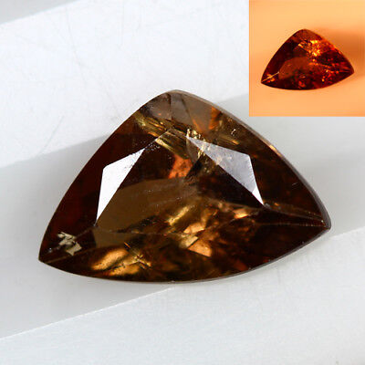 1.230 Ct  Earth Mined Unique Dazzling 100% Natural Dancing' Color Change Axinite