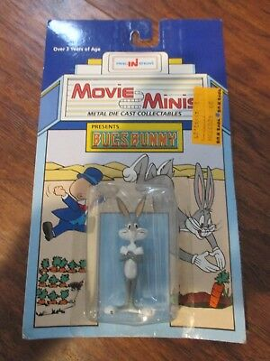 Movie Minis Metal Die Cast Collectibles Bugs Bunny