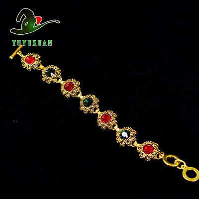 Gold-plated Bracelet Inlay Zircon S5017A