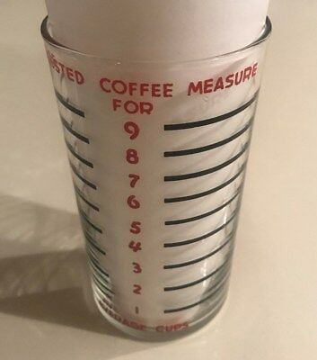 Vintage Hobart KitchenAid 9 Cup Coffee Bean Measuring Glass