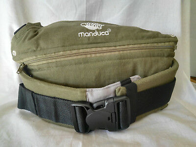 Manduca Baby Carrier Sling Child Toddler Organic Cotton Olive Colour Manual