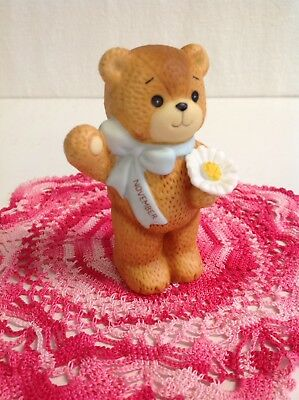 "Lucy And Me ""november"". Birthday Bear With Flower ( Scarce) Lucy Rigg Enesco"
