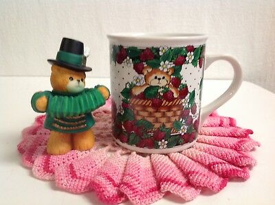 "Lucy And Me ""irish Boy Bear & Accordion & Mug"" Scarce Lucy Rigg Enesco."