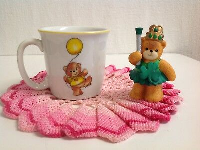 "Lucy And Me ""irish Baton Girl Bear & Mug"" (Scarce) Lucy Rigg Enesco"