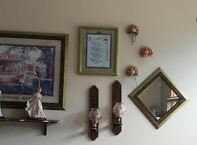 Home Interiors Homco Wwhole Wall Collection - Excellent Condition