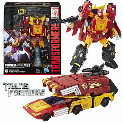 Transformers Generations Power of the Primes Leader Class - Rodimus Prime Figure