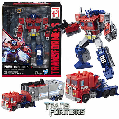 Transformers Generations Power of the Primes Leader Class - Optimus Prime Figure