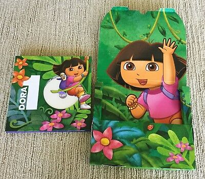 EXC ORIG DORA THE EXPLORER 10th ANNIVERARY PRESS KIT 2010 POP-UP BOOK & DVD EPS