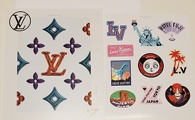 "Louis Vuitton Holiday Catalog ""THE BOOK #7 "" with Kabuki Stickers *NEW*"