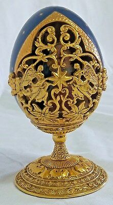 House of Faberge Madonna and Child Collector Egg Franklin Mint Limited Edition